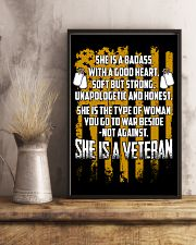 VETERAN WITH A GOOD HEART 11x17 Poster lifestyle-poster-3