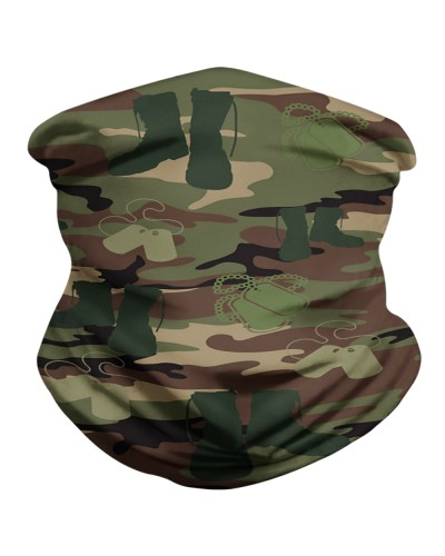 PROUD TO WEAR DOGTAGS AND COMBAT BOOTS