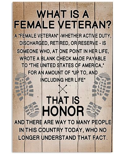 WHAT A VETERAN IS