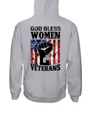 GOD BLESS WOMEN VETERANS Hooded Sweatshirt back