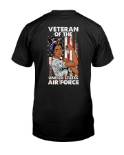 SHE SERVED IN USAF Classic T-Shirt back
