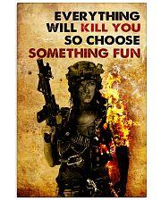 CHOOSE SOMETHING FUN 11x17 Poster front