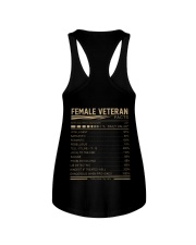 FEMALE VETERAN FACTS BACK Ladies Flowy Tank thumbnail