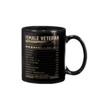 FEMALE VETERAN FACTS BACK Mug thumbnail