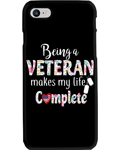 BEING A VETERAN MAKES MY LIFE COMPLETE