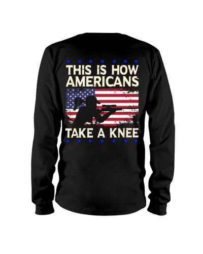 HOW AMERICA TAKE A KNEE