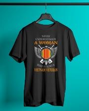 VIETNAM WOMEN VETERANS Classic T-Shirt lifestyle-mens-crewneck-front-3
