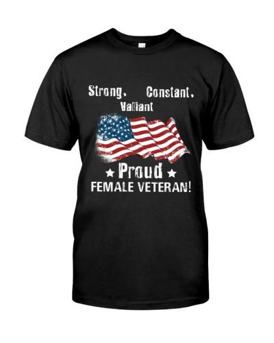 STRONG FEMALE VETERAN