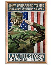 I AM A STORM 11x17 Poster front