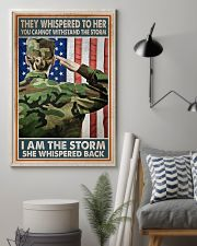I AM A STORM 11x17 Poster lifestyle-poster-1
