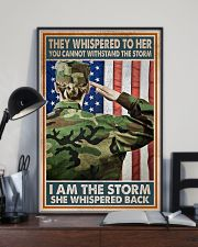 I AM A STORM 11x17 Poster lifestyle-poster-2
