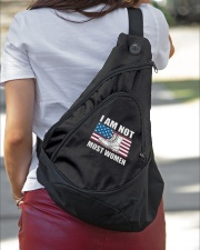 NOT MOST WOMEN Sling Pack garment-embroidery-slingpack-lifestyle-01