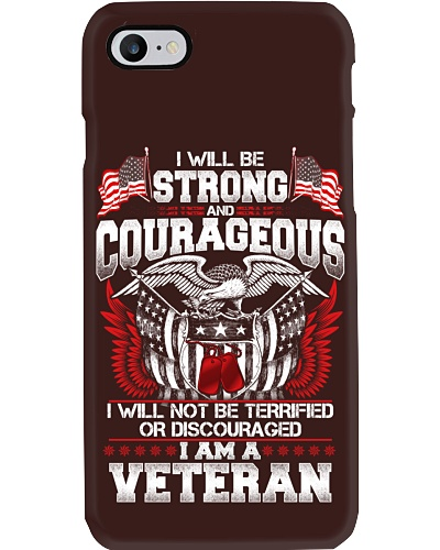 I WILL BE STRONG AND COURAGEOUS