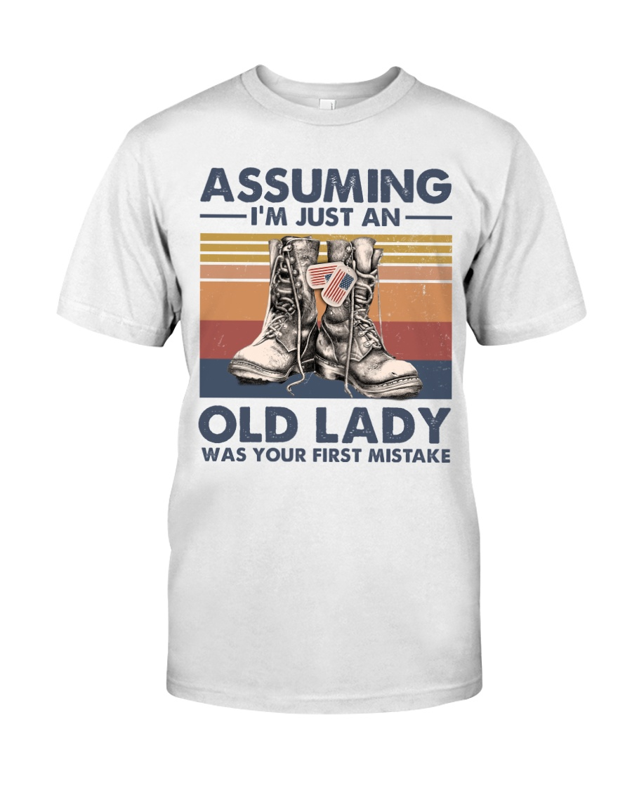VETERANS NOT JUST AN OLD LADY Classic T-Shirt