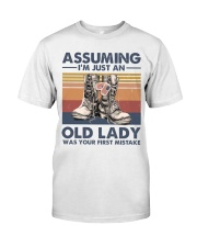 VETERANS NOT JUST AN OLD LADY Classic T-Shirt front