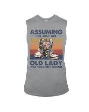 VETERANS NOT JUST AN OLD LADY Sleeveless Tee thumbnail