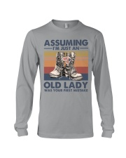 VETERANS NOT JUST AN OLD LADY Long Sleeve Tee thumbnail
