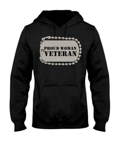 PROUD WOMAN VETERAN