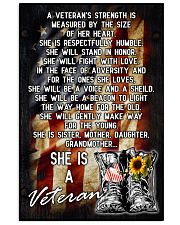 VETERANS ARE SISTERS MOTHERS GRANDMAS 11x17 Poster front