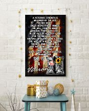 VETERANS ARE SISTERS MOTHERS GRANDMAS 11x17 Poster lifestyle-holiday-poster-3