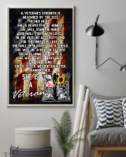VETERANS ARE SISTERS MOTHERS GRANDMAS 11x17 Poster lifestyle-poster-1