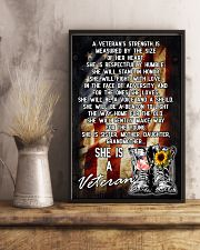 VETERANS ARE SISTERS MOTHERS GRANDMAS 11x17 Poster lifestyle-poster-3
