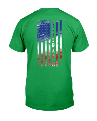 VETERAN AMERICAN FLAG VERSION