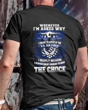 WHY I CHOSE AIR FORCE Classic T-Shirt lifestyle-mens-crewneck-back-2