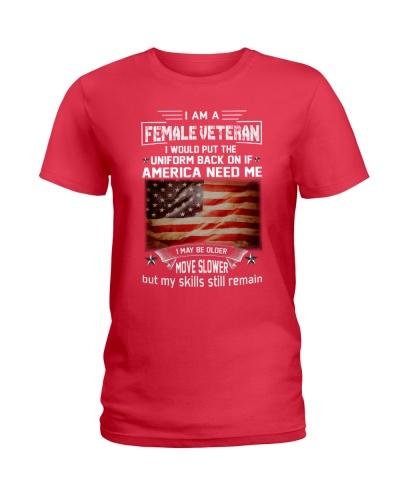 I AM A FEMALE VETERAN