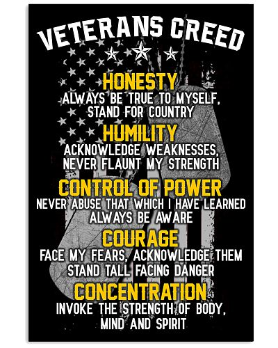 VETERAN'S CREED