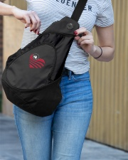 DOGTAGS IN THE HEART Sling Pack garment-embroidery-slingpack-lifestyle-02