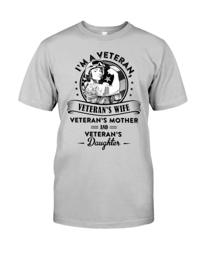VETERAN VET WIFE and MOTHER and DAUGHTER