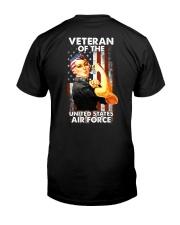 US AIR FORCE VETERANS  Classic T-Shirt back