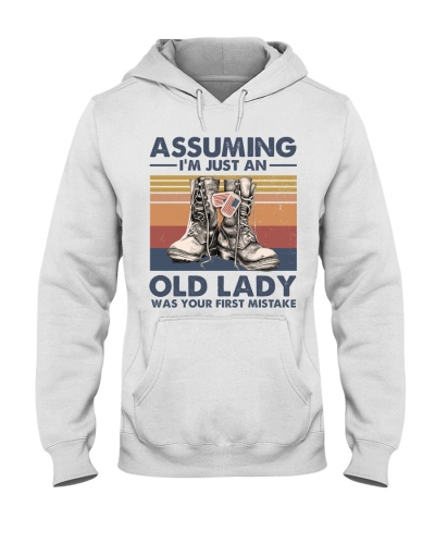 ASSUMING I AM JUST AN OLD LADY