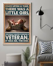 A LITTLE GIRL WANTED TO BECOME A VETERAN  11x17 Poster lifestyle-poster-1