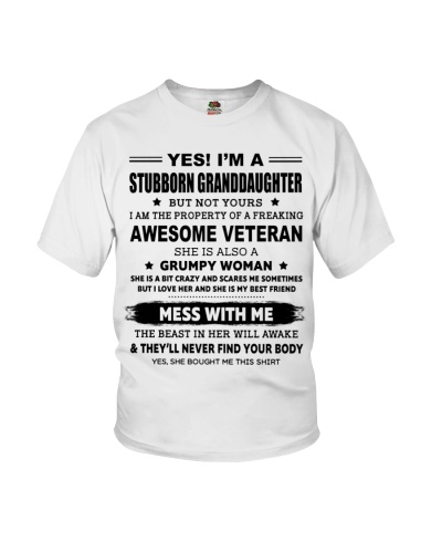 GRANDDAUGHTER OF A FREAKING AWESOME VETERAN