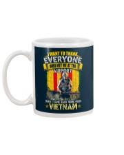 VIETNAM VETERAN EDITION Mug back