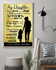 PROUD DAUGHTER OF VETERAN  11x17 Poster lifestyle-poster-1