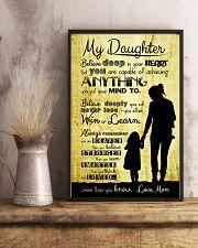 PROUD DAUGHTER OF VETERAN  11x17 Poster lifestyle-poster-3