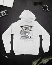 PROUD ARMY VETERAN Hooded Sweatshirt lifestyle-unisex-hoodie-front-9