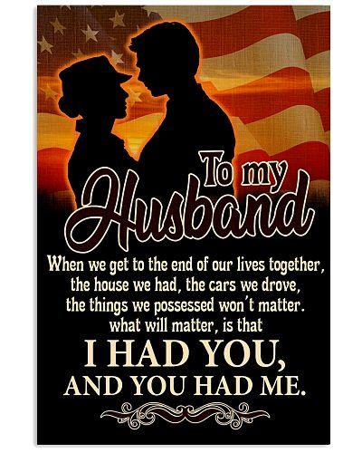 TO VETERAN'S HUSBAND