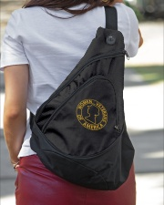 WOMEN VETERANS OF AMERICAN  Sling Pack garment-embroidery-slingpack-lifestyle-01