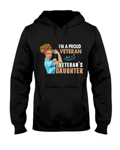 I AM A PROUD VETERAN AND VETERAN'S DAUGHTER
