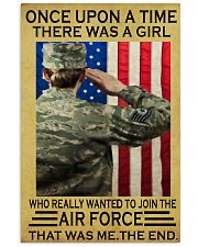 THE GIRL JOINED THE AIR FORCE  11x17 Poster front
