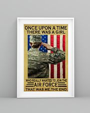 THE GIRL JOINED THE AIR FORCE  11x17 Poster lifestyle-poster-5