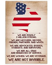 WE ARE NOT INVISIBLE 11x17 Poster front