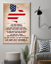 WE ARE NOT INVISIBLE 11x17 Poster lifestyle-poster-1
