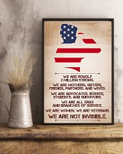 WE ARE NOT INVISIBLE 11x17 Poster lifestyle-poster-3