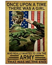 THE GIRL JOINED THE US ARMY  11x17 Poster front