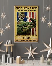 THE GIRL JOINED THE US ARMY  11x17 Poster lifestyle-holiday-poster-1